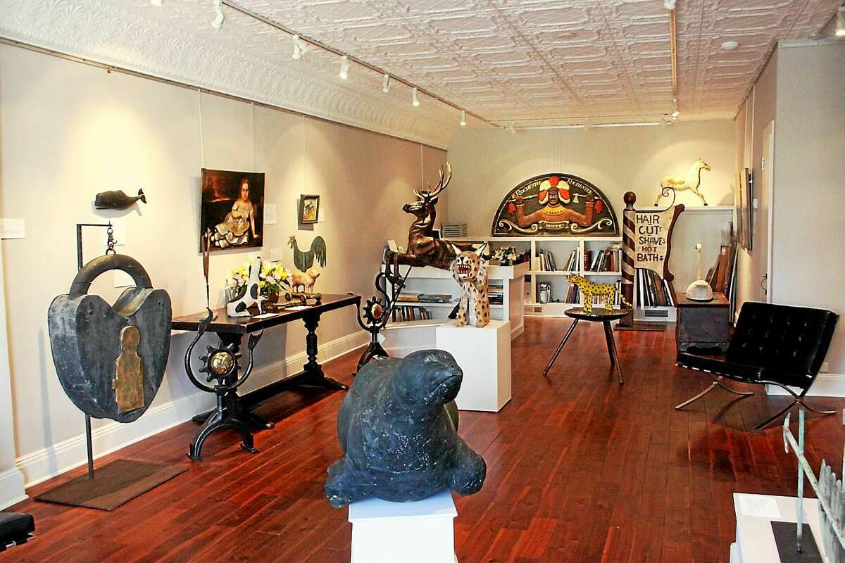 The spring exhibit that was featured at Andrea Keogh's gallery in Litchfield.