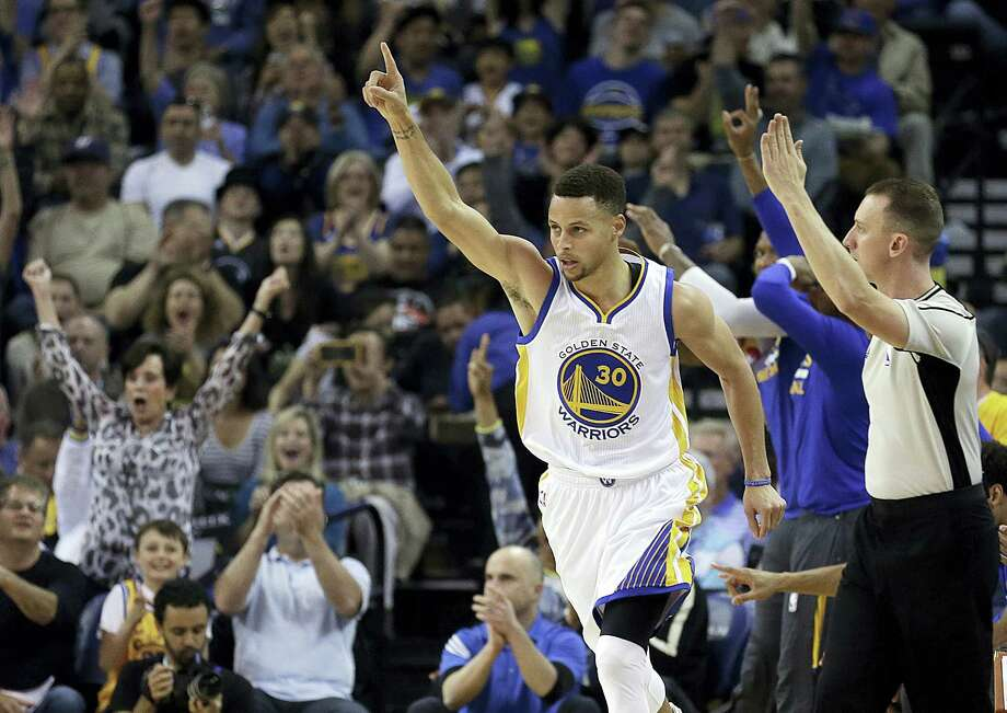 Stephen Curry will add a second straight MVP award to his record-setting season, a person with knowledge of the award told The Associated Press on Monday. Photo: The Associated Press File Photo  / AP