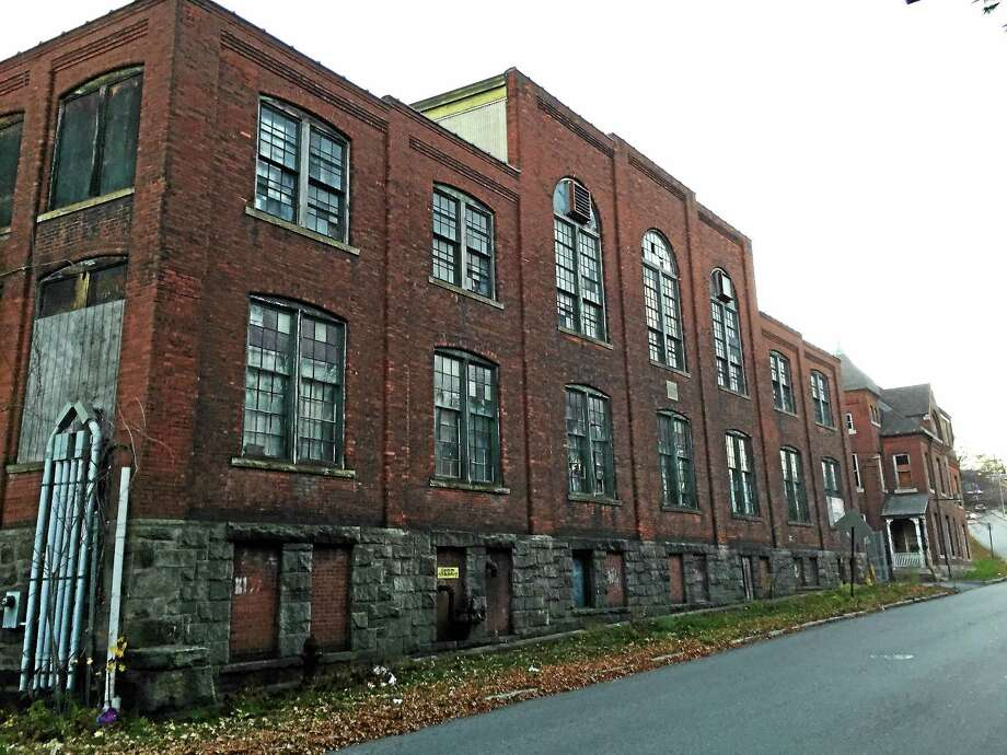 One of the buildings at the former Hendey Machine Company site, included as part of a grant application for state funds to develop a strategy for city brownfields. Photo: BEN LAMBERT — The Register Citizen