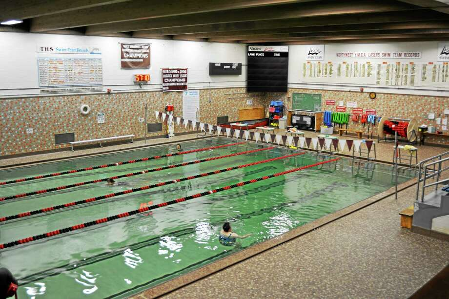 Torrington's YMCA branch reopens its pool for members after two weeks of repair work. Photo: Amanda Webster — The Register Citizen