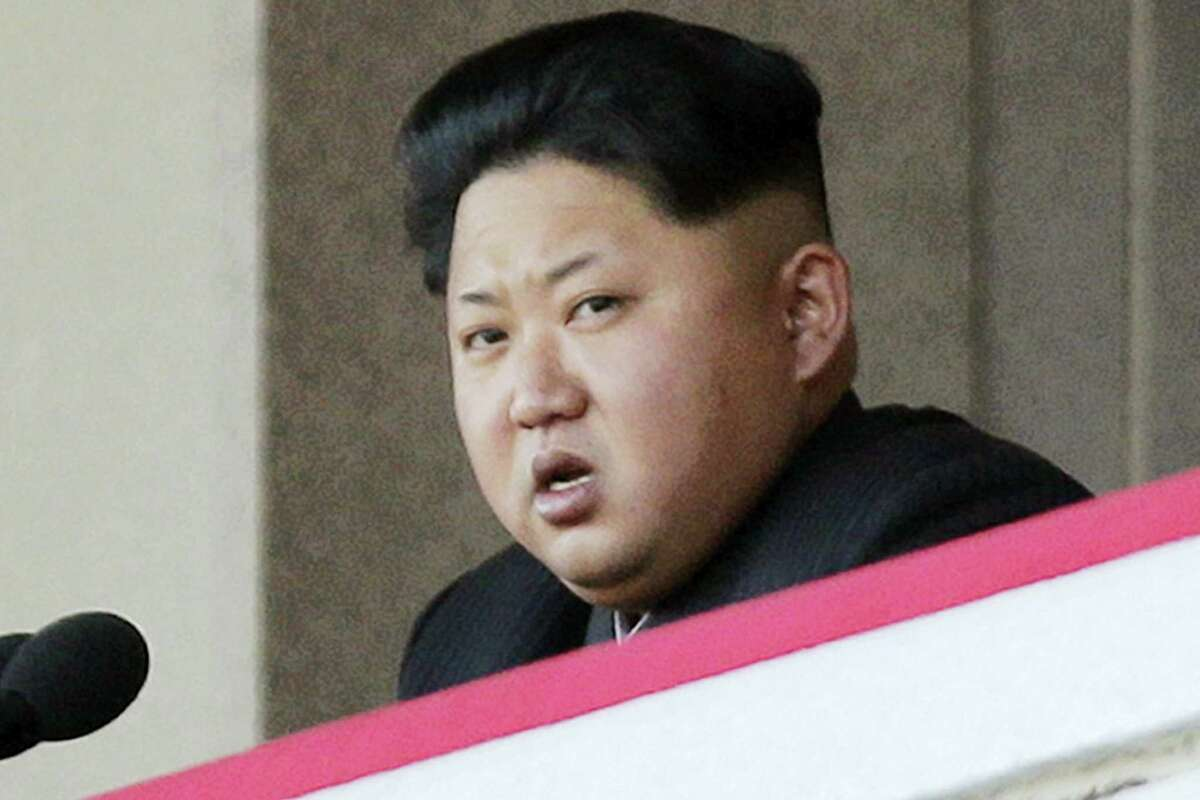 In this Oct. 10, 2015, file photo, North Korean leader Kim Jong Un delivers remarks at a military parade in Pyongyang, North Korea. North Korea said on Wednesday, Jan. 6, 2016, it has conducted a hydrogen bomb test.