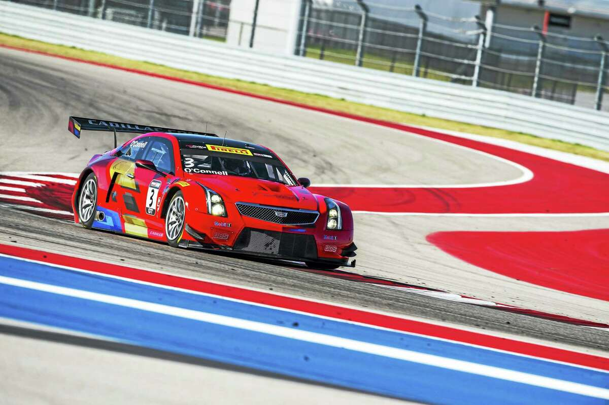 Pirelli World Challenge teams take to the track on Pirelli tires for a test session for the Pirelli World Challenge at Circuit of the Americas in Austin, Texas. Reigning racing champion Johnny O'Connell will drive a Cadillac ATS-VR GT3 Sedan this summer at Lime Rock Park's Traditional Memorial Day Weekend Season Opener.
