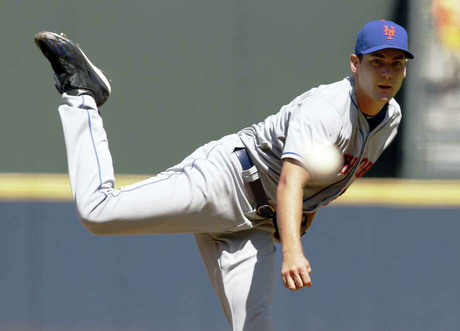 Mets pitcher Seth Lugo beat the Braves on Sunday to win his fourth straight start. Photo: Tami Chappell — The Associated Press  / FR39342 AP