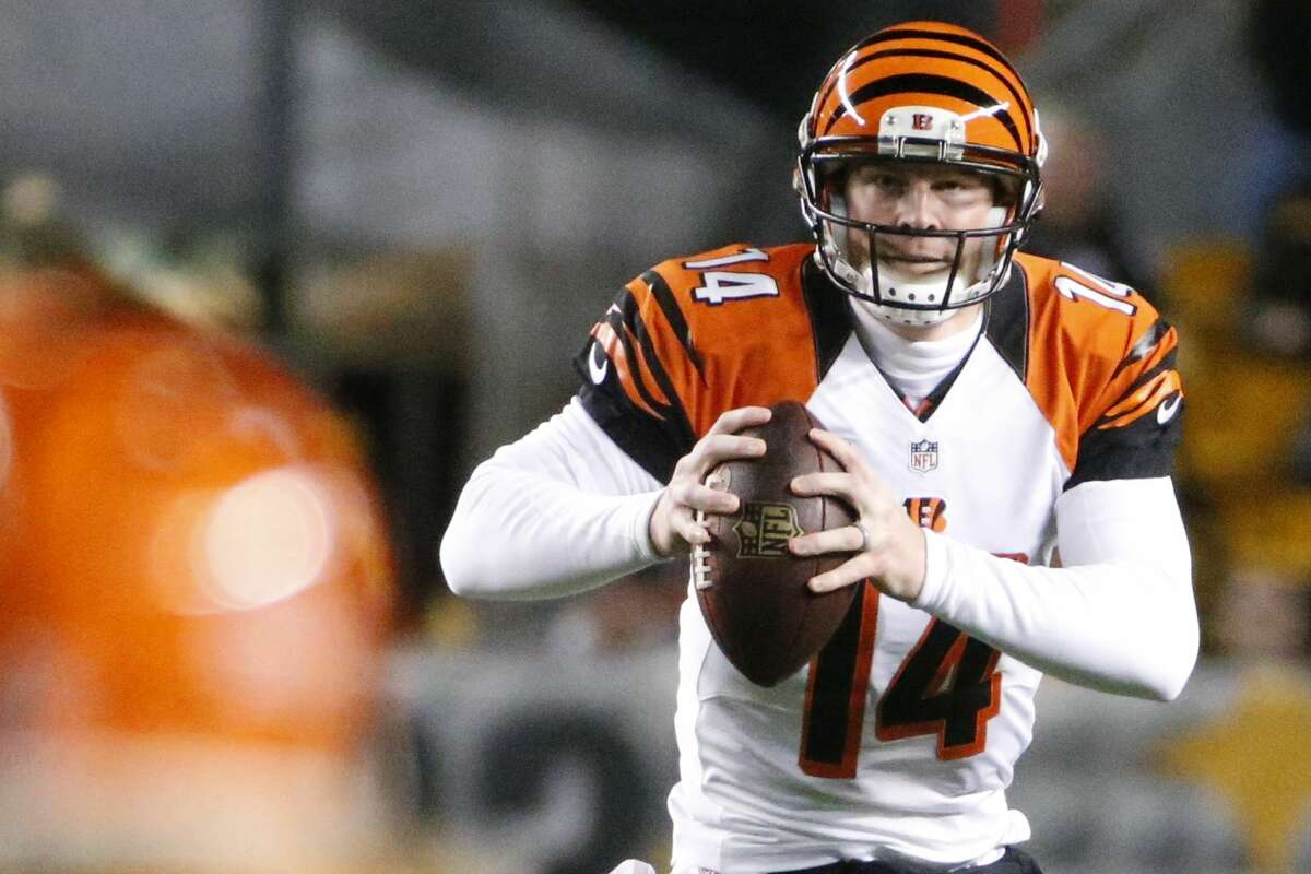 Cincinnati quarterback Andy Dalton and the Bengals will take on the Indianapolis Colts in an AFC wild card matchup.
