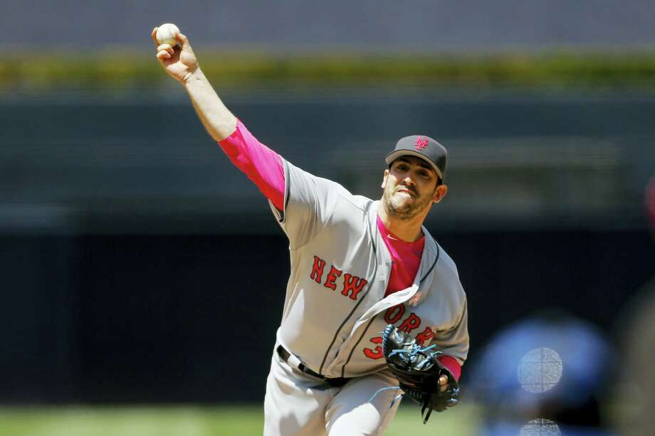 Mets starting pitcher Matt Harvey struck out 10 in a win over the Padres on Sunday. Photo: Gregory Bull — The Associated Press  / Copyright 2016 The Associated Press. All rights reserved. This material may not be published, broadcast, rewritten or redistribu