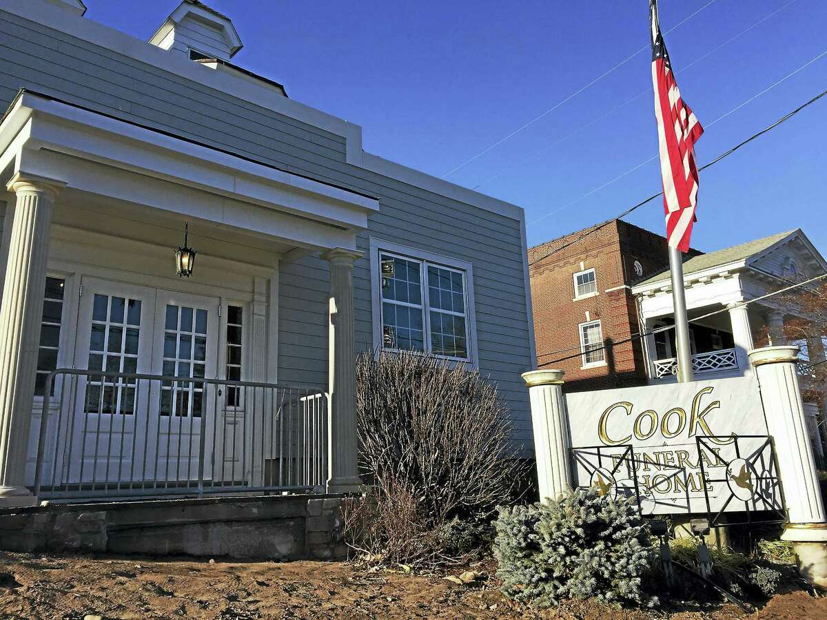 Cook Funeral Home at 82 Litchfield St. in Torrington.