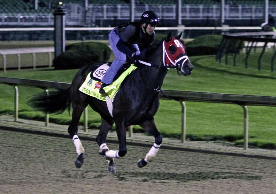 Kentucky Derby entrant International Star was scratched on Saturday. Photo: Garry Jones — The Associated Press  / FR50389 AP