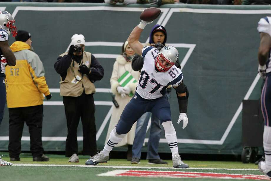 New England Patriots tight end Rob Gronkowski was a unanimous selection to the NFL All-Pro team. Photo: Julio Cortez — The Associated Press  / AP