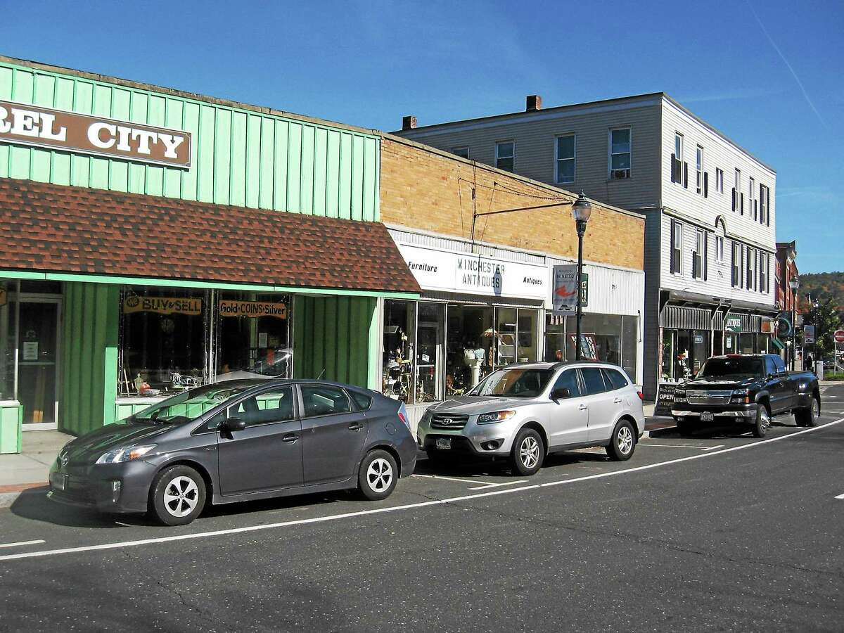 Antiques row on Main Street/Route 44 in Winsted.