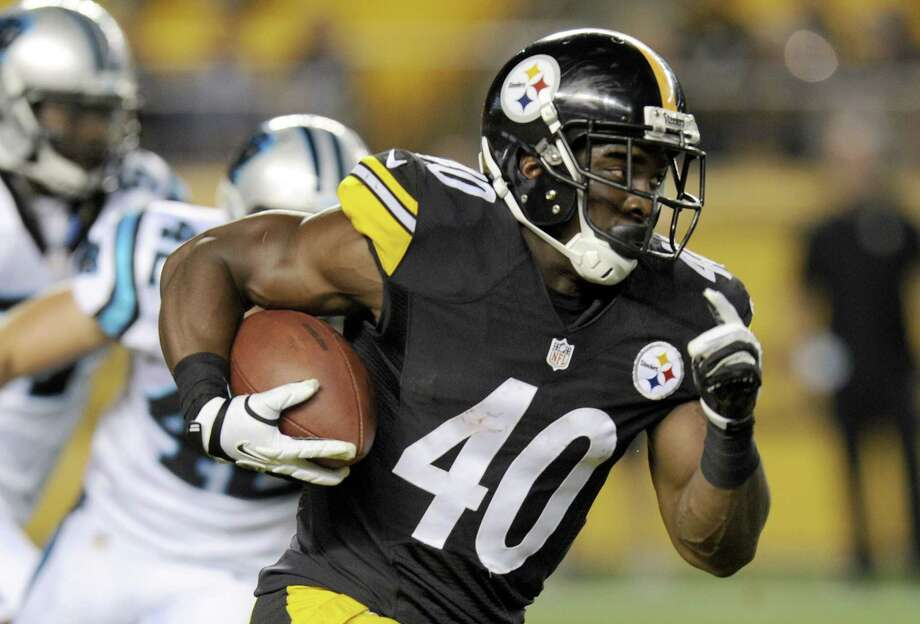 Pittsburgh Steelers running back Josh Harris will most likely get the start with Le'Veon Bell sidelined with a knee injury. Photo: Don Wright — The Associated Press File Photo  / FR87040 AP