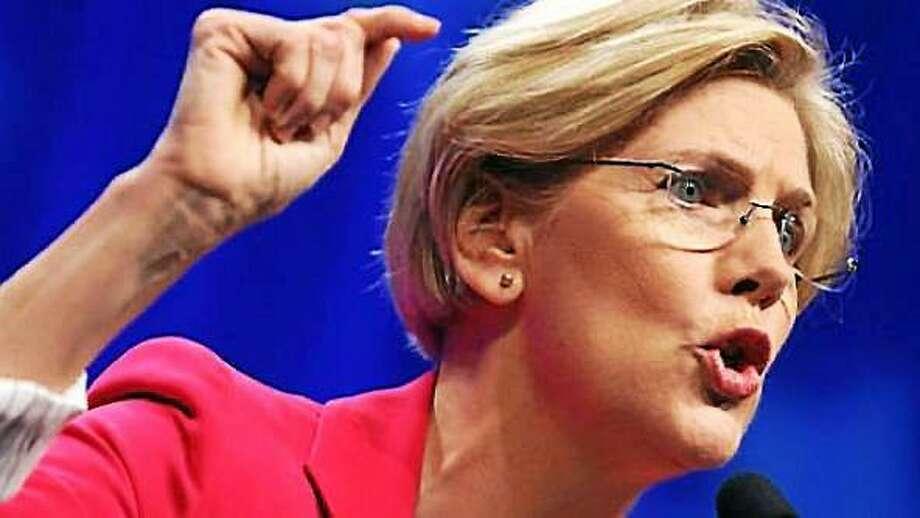 Elizabeth Warren Photo: AP File Photo