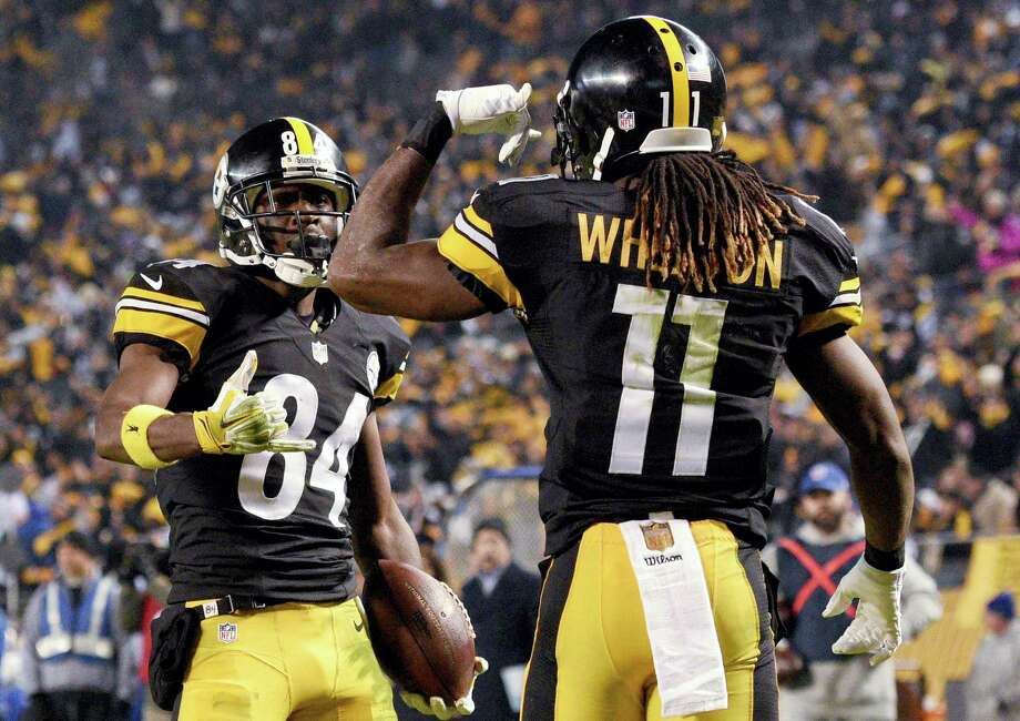 The Register's Dan Nowak thinks Markus Wheaton, Antonio Brown and the Steelers are going to roll past the Browns on Sunday in Cleveland. Photo: Don Wright — The Associated Press File Photo  / FR87040 AP
