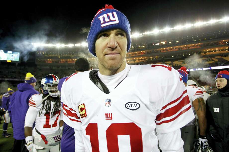 It's been a lost season for the New York Giants and quarterback Eli Manning. Photo: Andy Clayton-King — The Associated Press  / FR51399 AP
