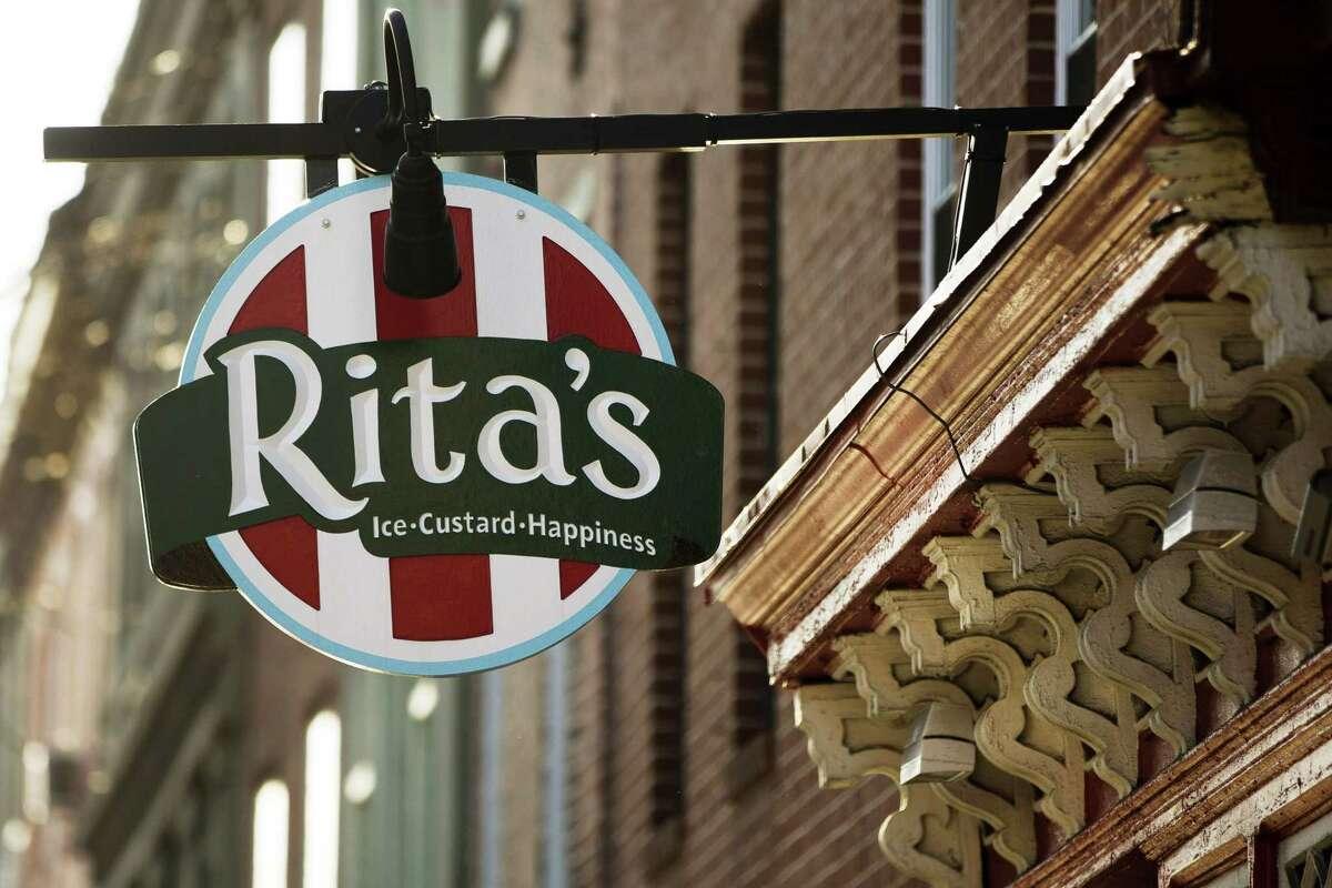 A Rita's Italian Ice location in Philadelphia.