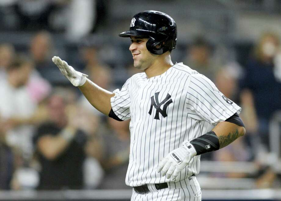 Getting a chance to watch young players like Gary Sanchez flourish has turned the Yankees into a group of lovable underdogs according to Register columnist Chip Malafronte. Photo: The Associated Press File Photo  / FR51951 AP