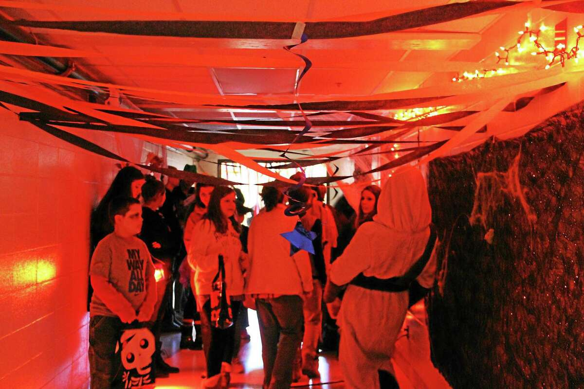 The Gilbert School hosted a free Halloween Trick or Treating event Friday evening that attracted more than 250 community children and parents.