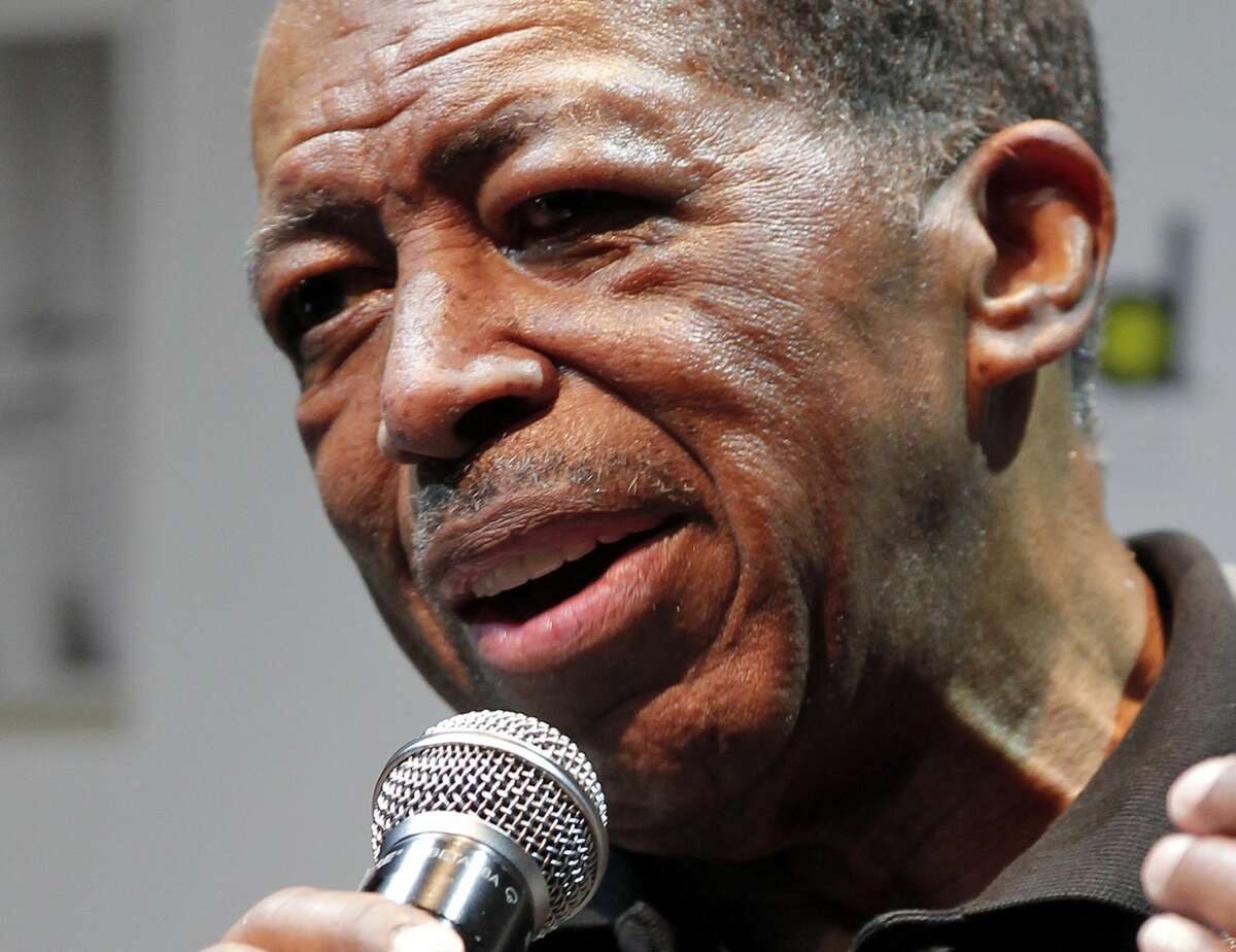 "FILE - In this Nov. 15, 2011, file photo, singer Ben E. King speaks during a news conference in Tokyo. King, singer of such classics as ""Stand By Me,"" ""There Goes My Baby"" and ""Spanish Harlem,"" died Thursday, April 30, 2015, publicist Phil Brown told The Associated Press. He was 76."