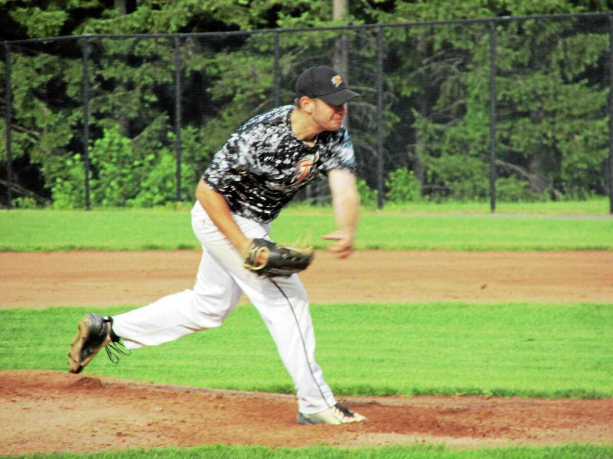 Terryville's Frank Romanelli went the distance on a windy, hitter's day, giving up just seven hits against Torrington.