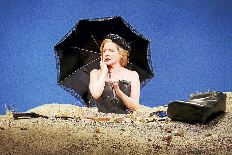 "Dianne Wiest in ""Happy Days"" by Samuel Beckett, directed by James Bundy. Photo: Photo Courtesy Of Joan Marcus  / Joan Marcus"