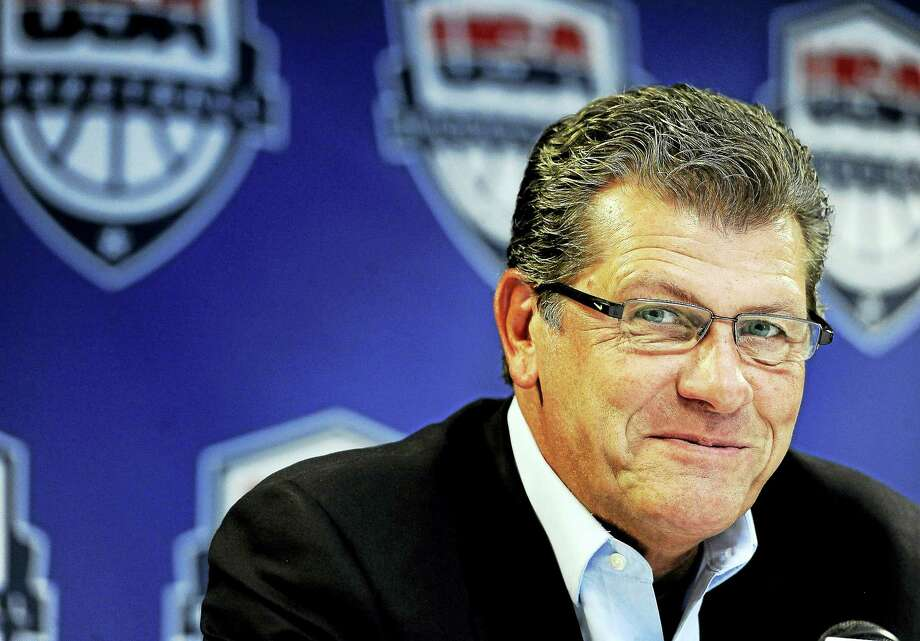 UConn women's basketball head coach Geno Auriemma. Photo: The Associated Press File Photo  / FR125654 AP
