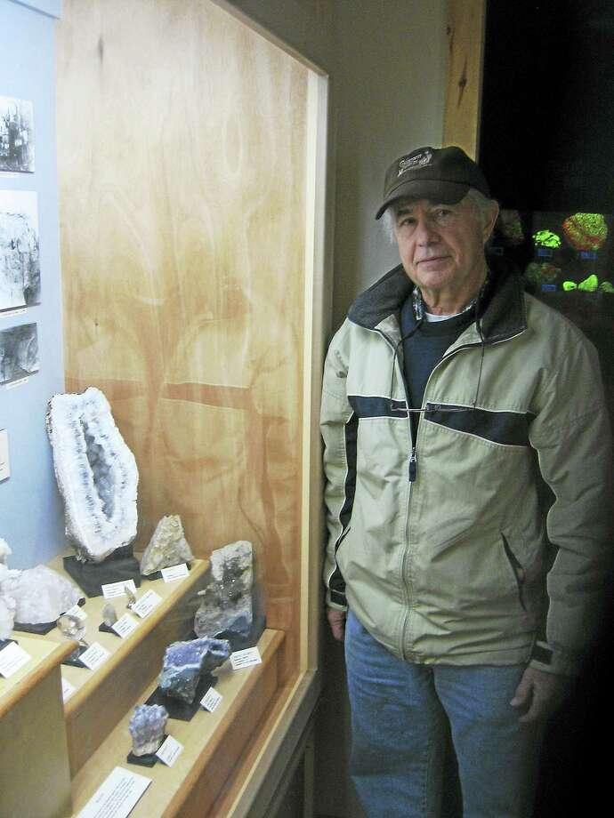 John Pawleski, president of the Connecticut Antique Machinery Association in Kent. Photo: Photo By John Torsiello
