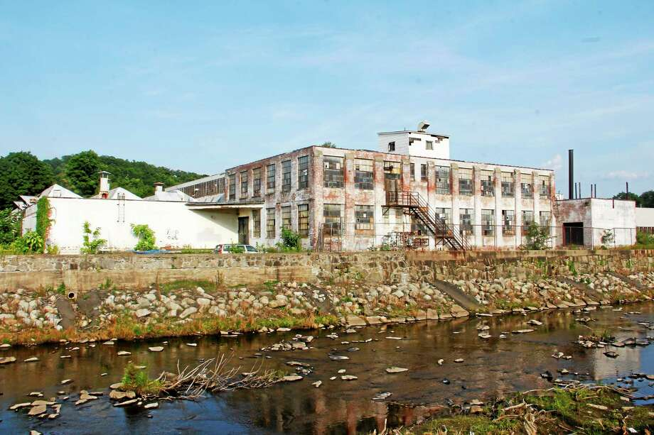 The former Nidec building in Torrington, before it was demolished in 2015. Photo: Register Citizen File Photo