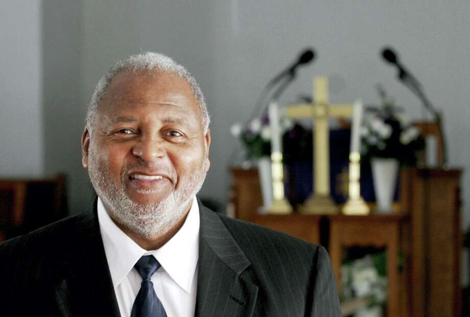 The Rev. William B. Schooler is pictured in January 2011 photo in Dayton, Ohio. Schooler, 70, was fatallly shot on Feb. 28, 2016 while in his office at St. Peter's Missionary Baptist Church in Dayton, Dayton police said. Photo: Chris Stewart/Dayton Daily News Via AP  / © Chris Stewart, Dayton Daily News