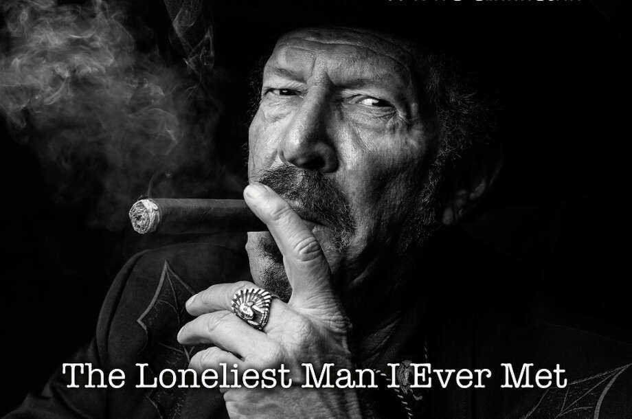 Contributed photo Kinky Friedman, pictured on the cover of his latest recording, The Loneliest Man I Ever Met, performs at Bridge Street Live Oct. 30. Photo: Journal Register Co.