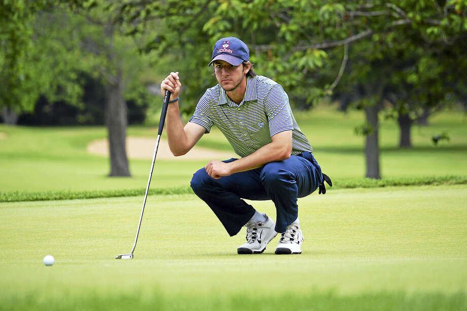 UConn senior Zach Zaback participated in his first Julius Boros Challenge Cup on Thursday at New Haven Country Club. Photo: Photo Courtesy Of The CSGA