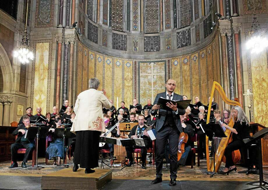 Photo by Steven PotterCrescendo, shown performing at St. Bart's, is holding two concerts in November in Connecticut and Massachusetts. Photo: Journal Register Co.