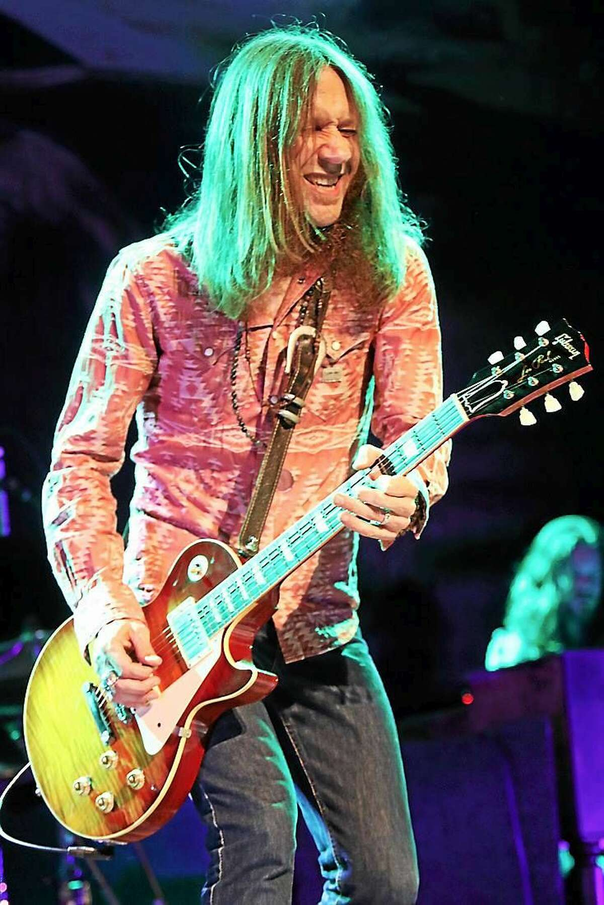Photo by John Atashian Blackberry Smoke singer and guitarist Charlie Starr is shown performing on stage at the College Street Music Hall in New Haven on Friday night June 26. The band from Atlanta, Georgia are currently on a US tour in support of their fourth studio CD, ìHolding All The Roses.î To learn more about this rising Southern rock band, visit www.blackberrysmoke.com