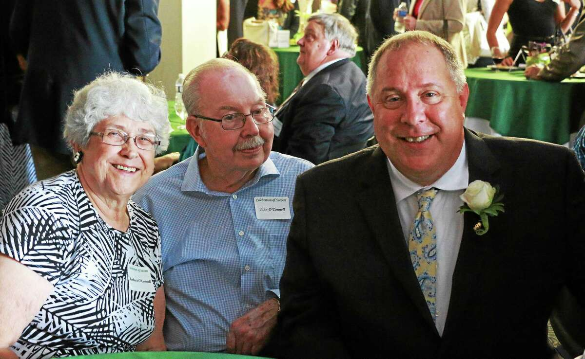 2015 Celebration of Success recipient Kevin O'Connell, right, with his parents Barbara and John.