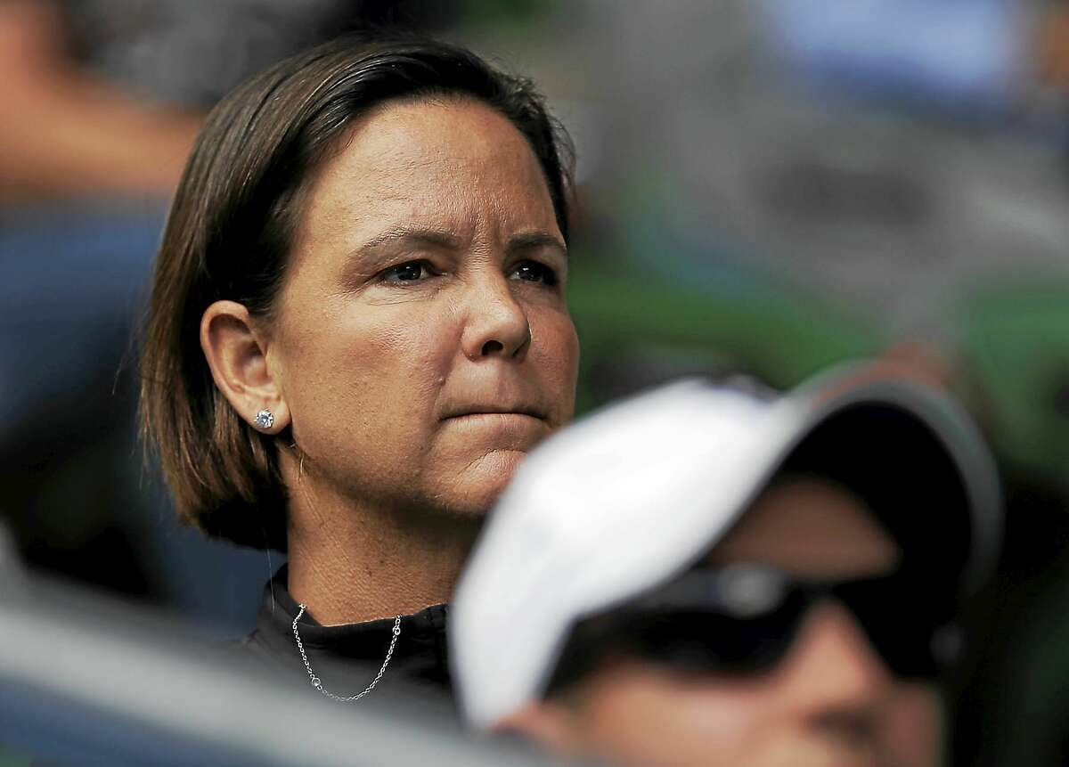 Lindsay Davenport, who won the Connecticut Open in 2005, is currently the coach for rising American star Madison Keys.