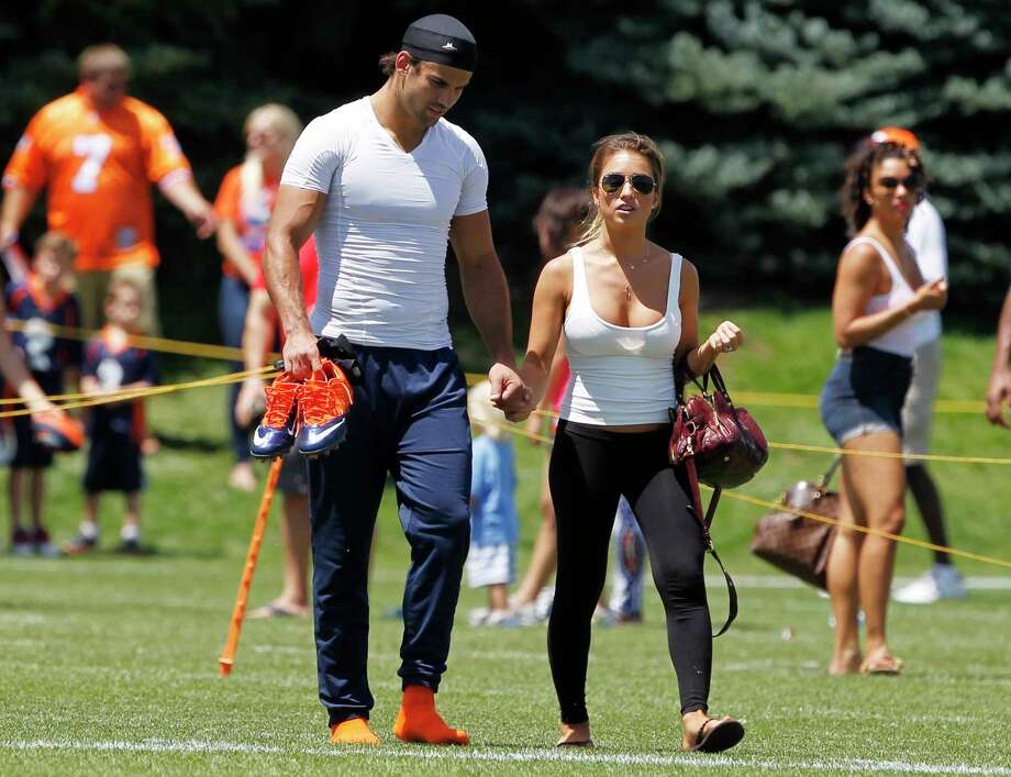 The Jets launched an anti-bullying campaign, donating 1,000 prevention toolkits to area schools, and Eric Decker and his wife wanted to be ambassadors to the program through their foundation. Photo: David Zalubowski — The Associated Press File Photo  / AP