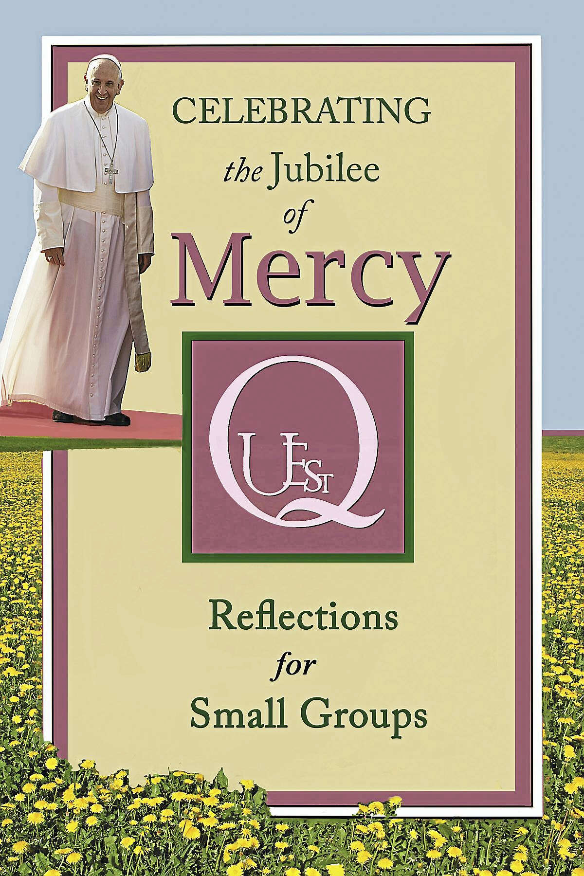 The cover of the Mercy Quest booklet.