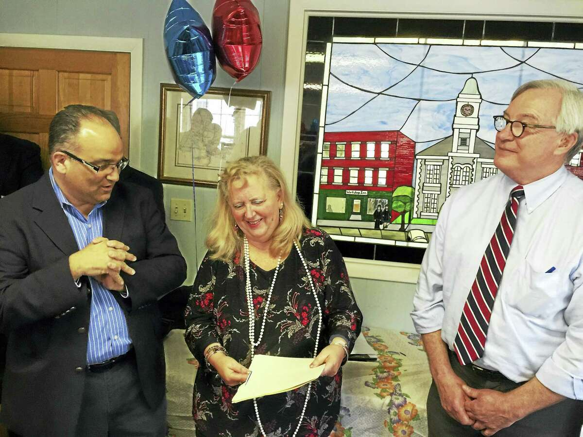 William Riiska was announced as the Democratic nominee for the 64th District seat in the state House of Representatives Thursday.