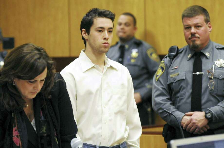 Former Wesleyan University sophomore and neuroscience major Zachary Kramer, 21, was sentenced to four months in prison on Thursday in Middletown Superior Court. Photo: FILE Photo  / Pool The Hartford Courant