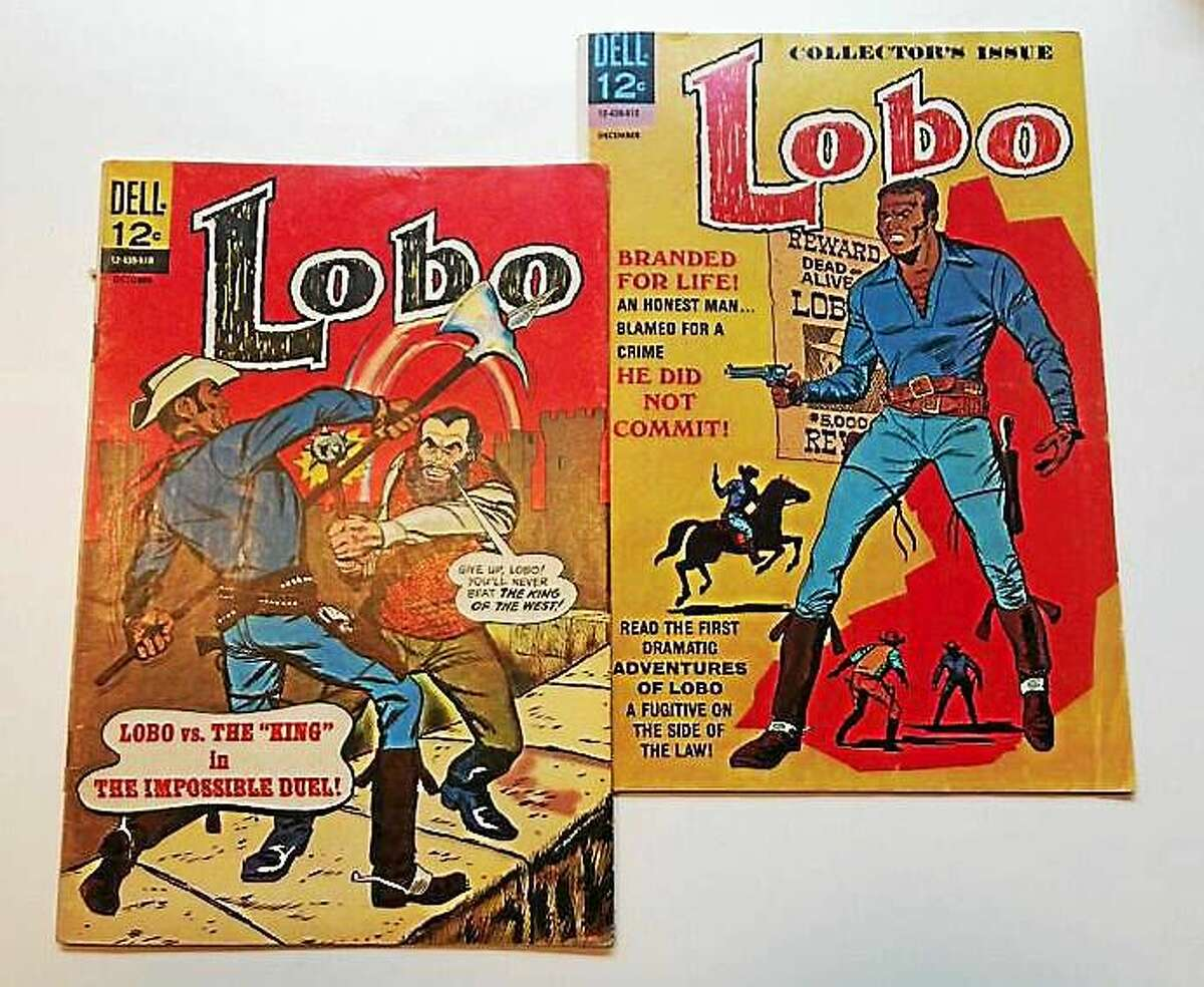 Lobo comic issues 1 and 2.