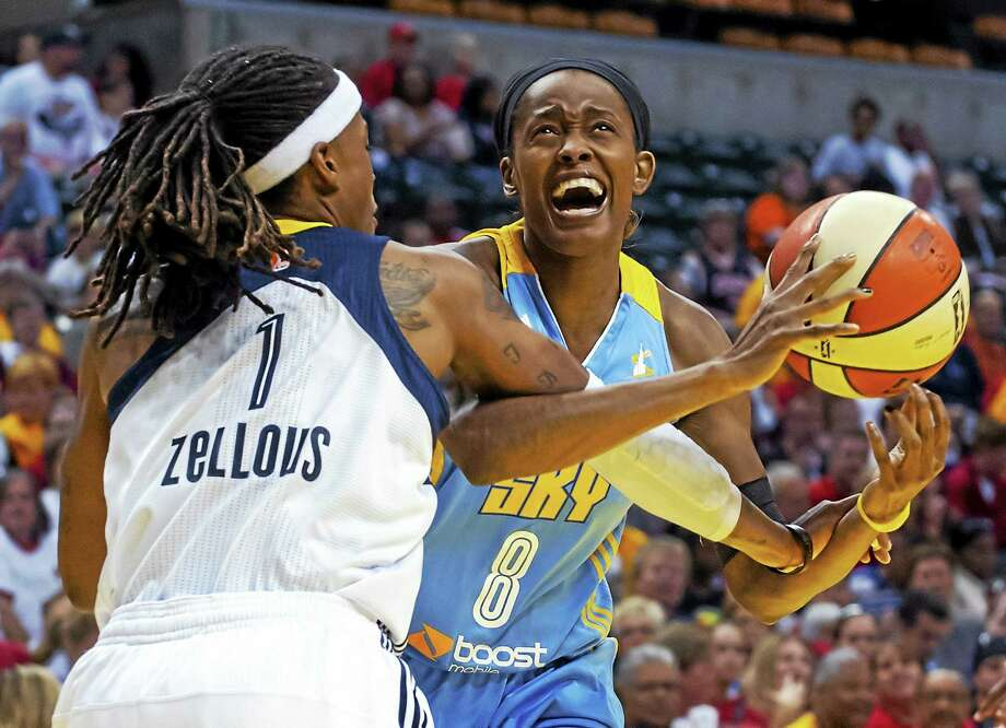 Former UConn star Swin Cash is a big fan of the current group of Huskies. Photo: The Associated Press  / FR170771 AP