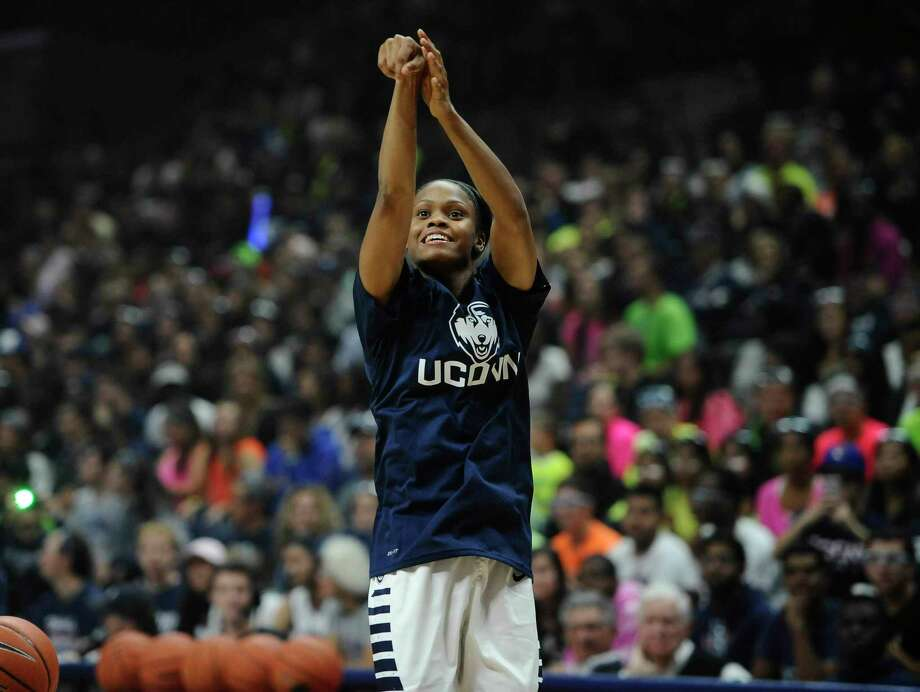 Moriah Jefferson and UConn are once again the class of the American Athletic Conference. The Huskies are the unanimous No. 1 team and Jefferson is a unanimous first-team selection. Photo: Jessica Hill — The Associated Press  / FR125654 AP