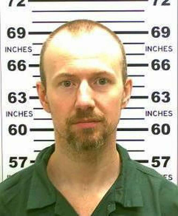 FILE - This May 21, 2015, file photo released by the New York State Police shows David Sweat. Sweat, the second of two convicted murderers who staged a brazen escape from an upstate maximum-security prison three weeks ago, was shot and captured Sunday, June 28, 2015, two days after his fellow inmate was killed in a confrontation with law enforcement officers, a sheriff said. (New York State Police via AP, File) Photo: AP / New York State Police