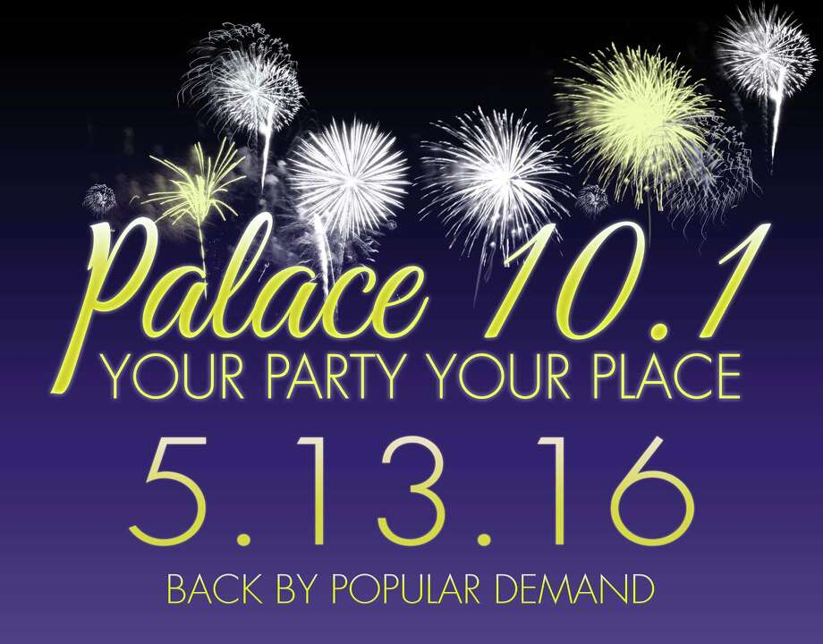 Contributed photoThe Palace Theatre in Waterbury will host its annual party on May 13. Photo: Journal Register Co.