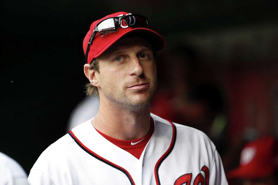 Max Scherzer and the Washington Nationals vaulted to No. 4 in the latest Register MLB Rankings. Photo: Alex Brandon — The Associated Press  / AP