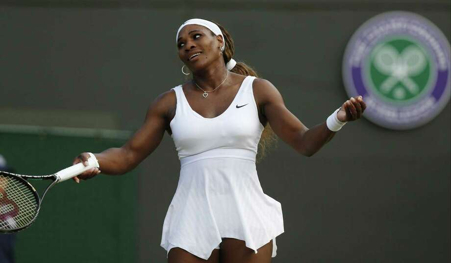A five-time champion and two-time runner-up at Wimbledon, Serena Williams hasn't been past the fourth round either of the last two years at the All England Club. Photo: Sang Tan — The Associated Press File Photo  / AP
