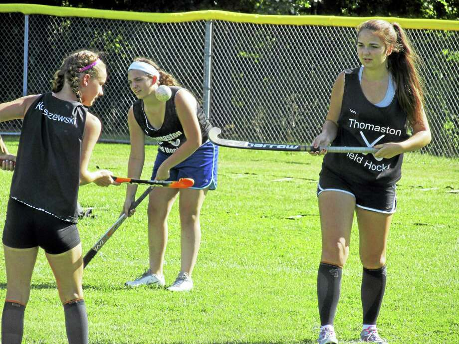 Thomaston brings back an experienced defense from its first field hockey state championship. Photo: Photo By Peter Wallace