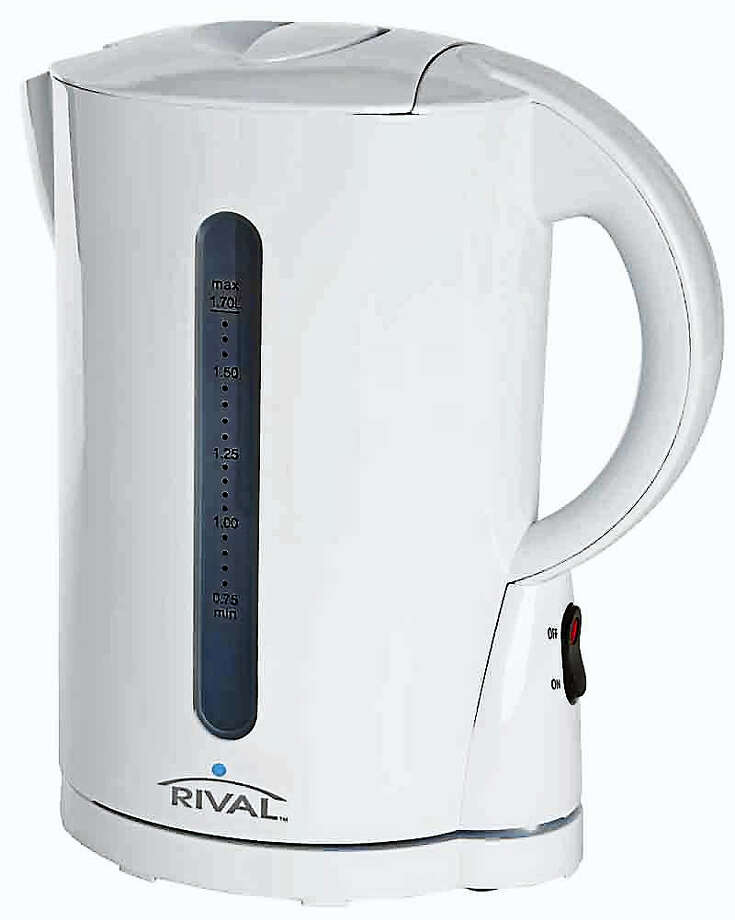 Walmart is recalling some 1.2 million Rival brand electrical kettles after dozens of reports of shock and burn incidents across the U.S. Photo: Photo Courtesy Of U.S. Consumer Product Safety Commission
