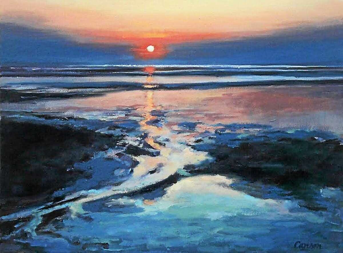 Images courtesy of Beth Carlson Paintings by Litchfield County artist Beth Carlson will be displayed in the gallery at the Oliver Wolcott Library in March and April.
