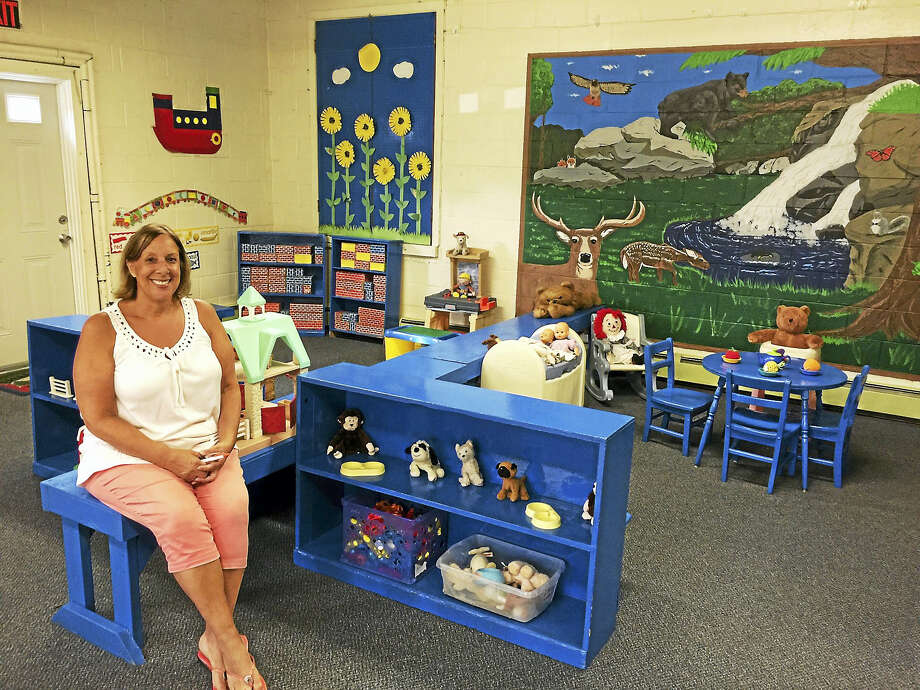 Ben Lambert - The Register CitizenLaurie Rudek, seen here Friday, has been operating the Torrington Preschool Center for nearly four decades. Photo: Journal Register Co.