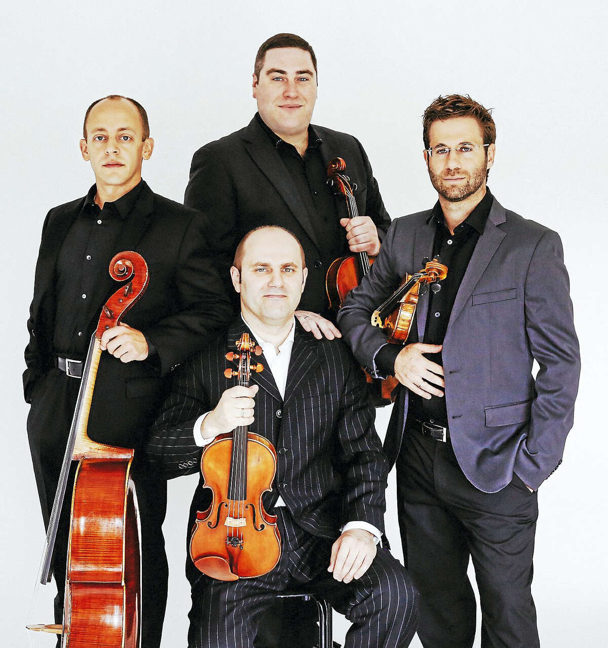 Contributed photoThe Amernet String Quartet performs Sunday, Sept. 11 at Music Mountain.