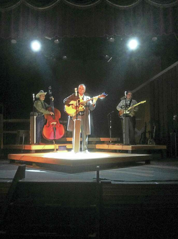 Contributed photoA scene from Ring of Fire, a tribute performance to Johnny Cash, is being performed at the Thomaston Opera House in Thomaston. Photo: Journal Register Co.